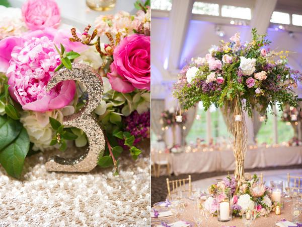 сватбена украса с цветя