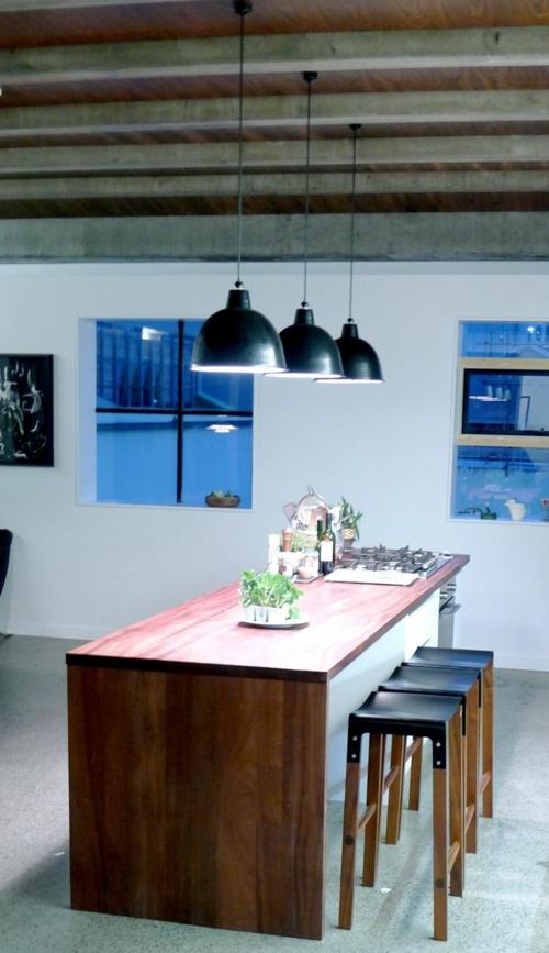 interior dizain tendencii trapezariq skandinavski stil stolove