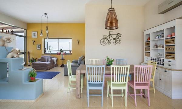 interior pastelni cvetove tendencii dizain dom