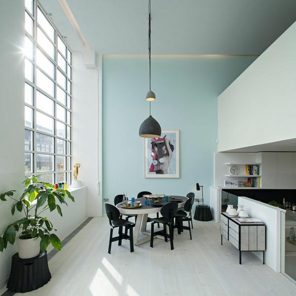 interior trapezariq tendencii skandinavski stil bqlo cherno