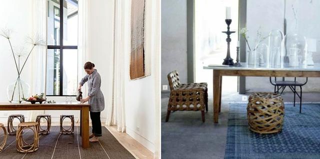interioren dizain trapezariq stolove