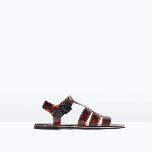letni kafqvi sandali