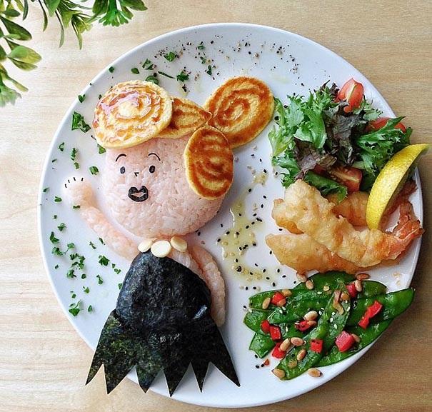 kreativna hrana dekoraciq deca