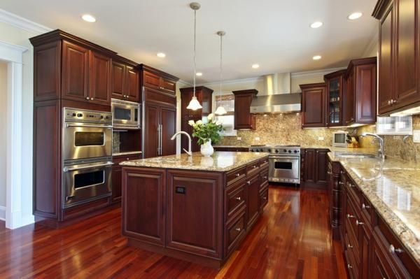 луксозен дизайн на кухня