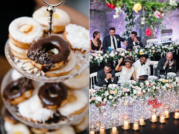 mladojenci svatba sladkishi restorant