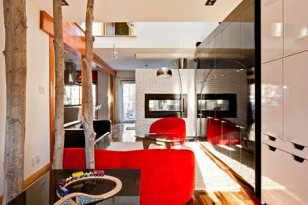 Модерен интериорен дизайн в дома