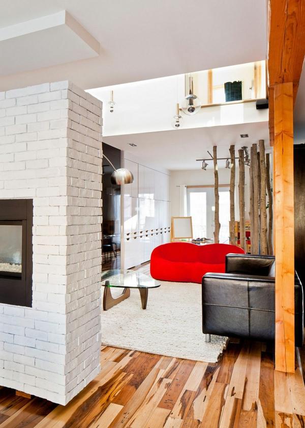 Модерен интериорен дизайн в хола