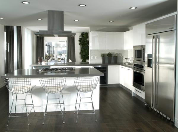 луксозен дизайн на кухня в модерен стил