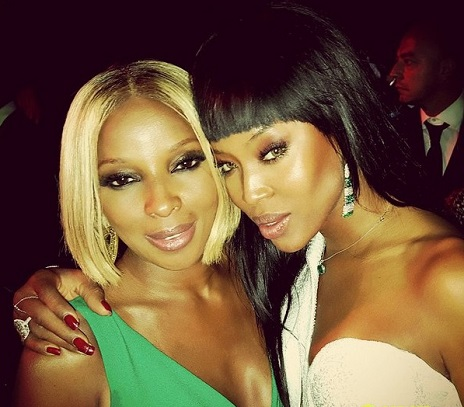 naomi campbell mary j blide