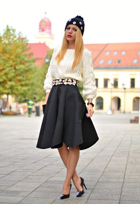 pola visoka taliq moda stil