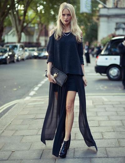 poppy delevin street style london