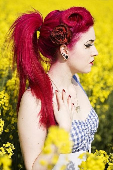 pricheski tendencii chervena kosa