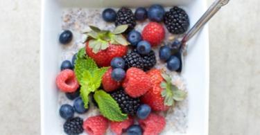 recepta chia zdravoslovna zakuska plodove