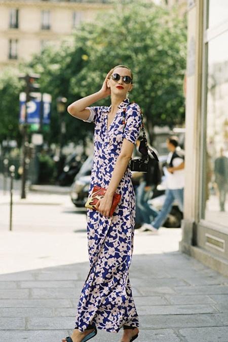 летни рокли стрийт стайл
