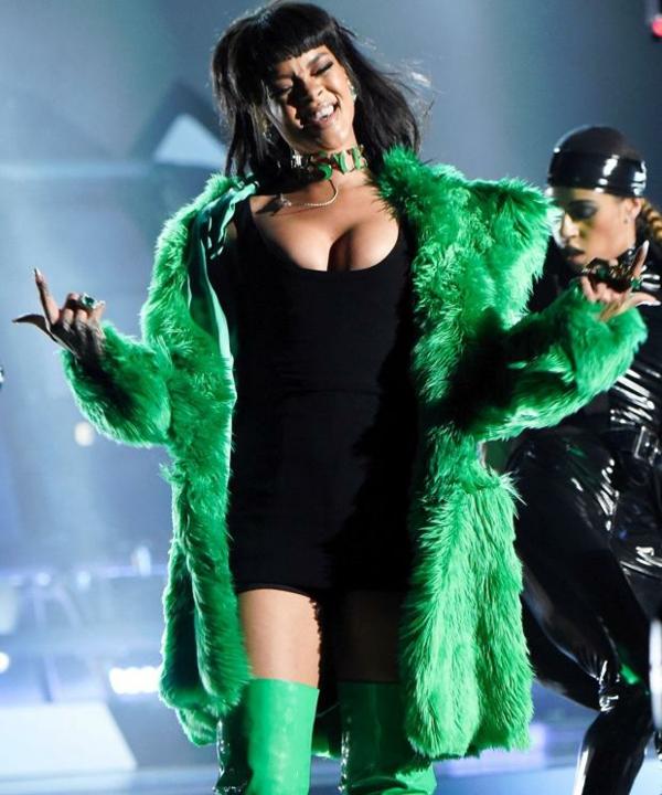 riana tendencii palto puh zeleno