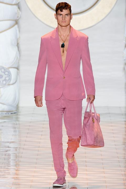 rozov kostum majka moda