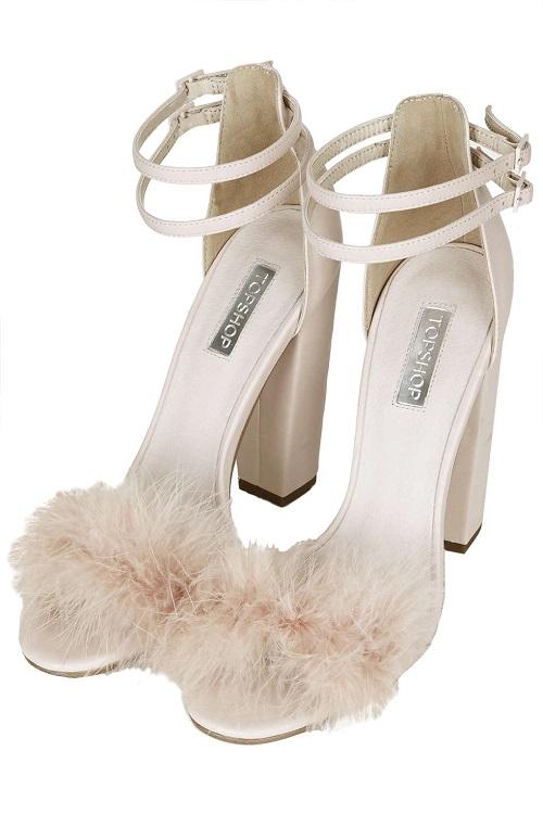 rozovi sandali s pera
