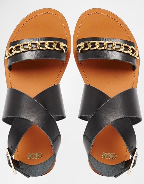 sandali asos cherni
