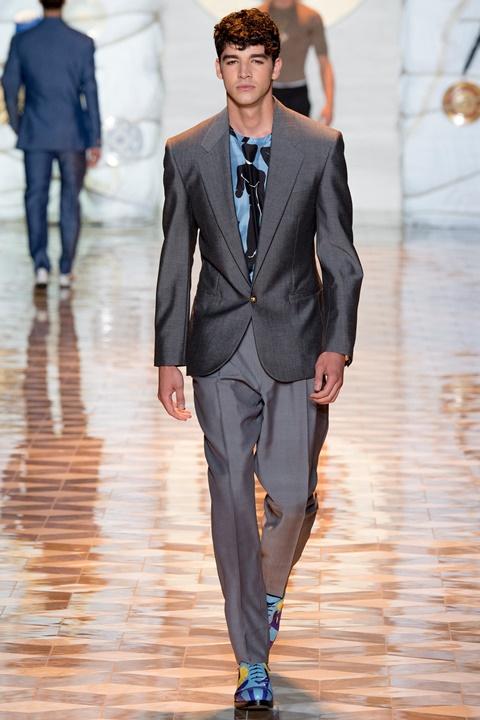 siv kostum sini obuvki versace