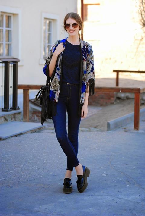 sivo kaso kimono