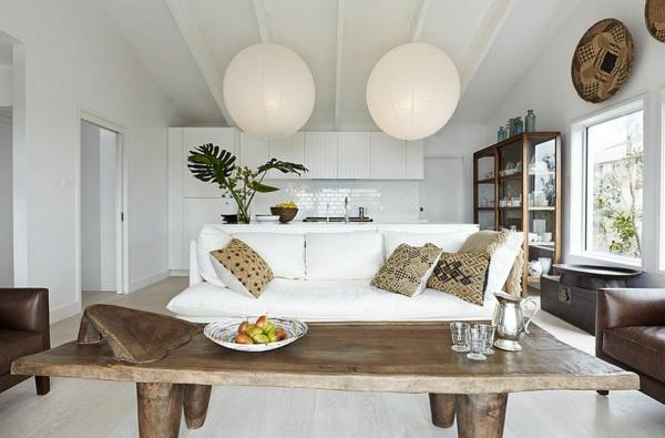 skandinavski interioren dizain darvena masa