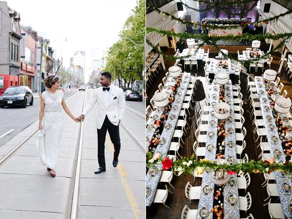 svatbena snimka mladojenci restorant
