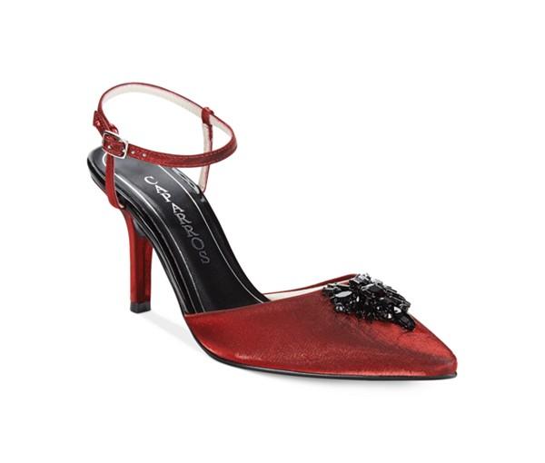 svatbeni obuvki cherveni