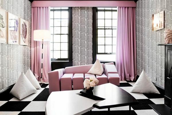 tendencii interioren dizain pastelni cvetove