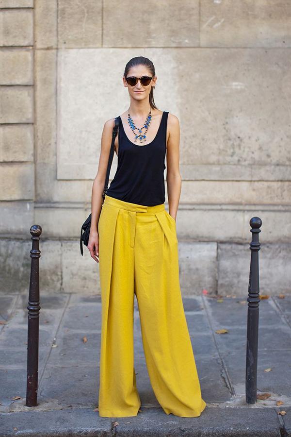 tendencii prolet 2015 jalti pantaloni