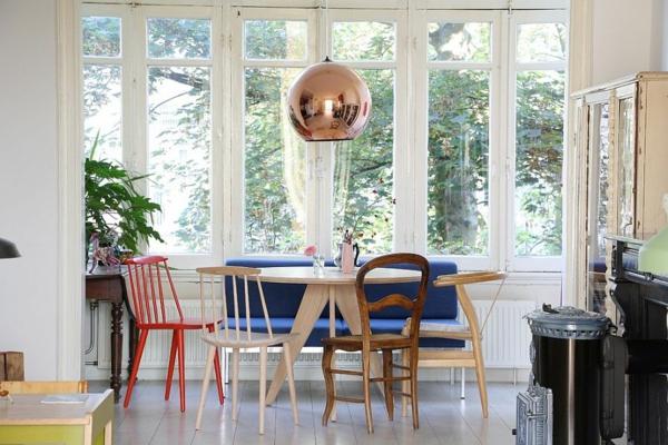 trapezariq interior dizain skandinavski stil