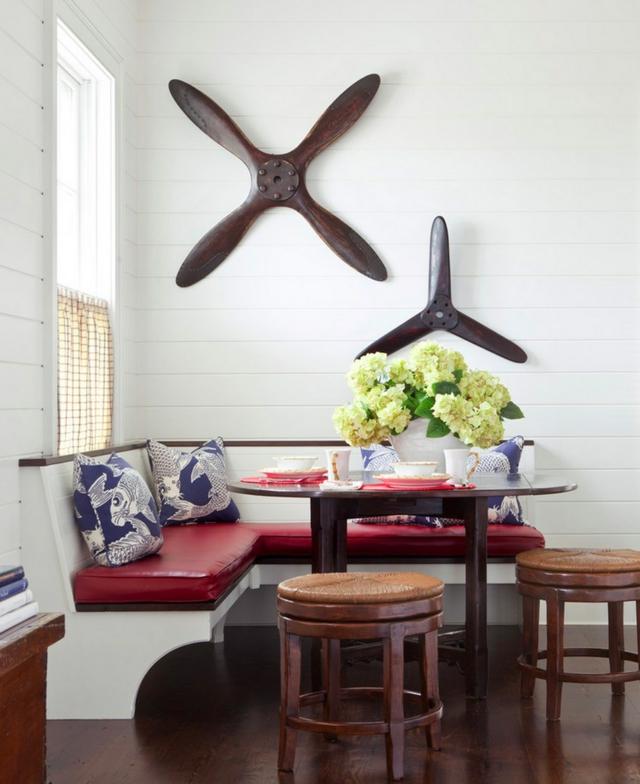 trapezariq interior dizain tendencii stolove