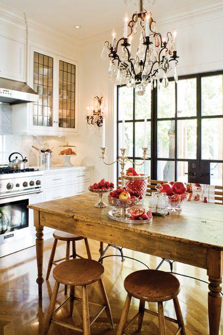 trapezariq tendencii interioren dizain stolove