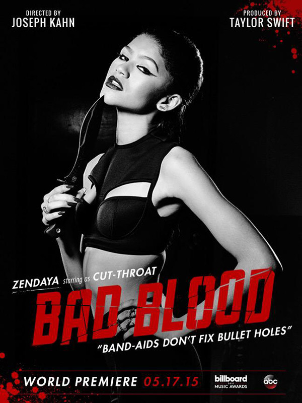 zendaya bad blood video