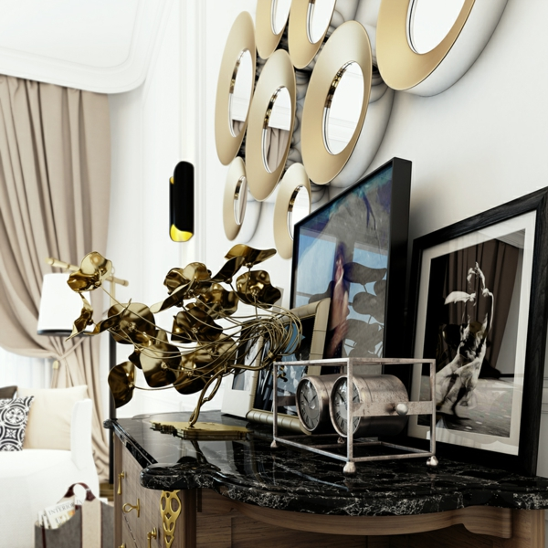 Интериорен-дизайн-в-бяло-и-черно-декорация-спалня-идеи