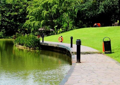 безплатни неща в сингапур ботаническа градина