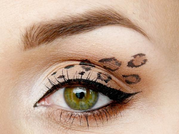 леопардов-грим-за-зелени-очи-идеи