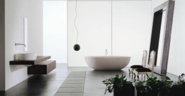 Декор на модерна баня със свежо излъчване