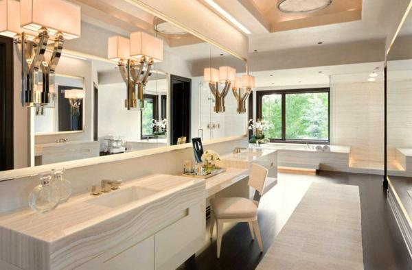 декор на модерна баня интериор бяло