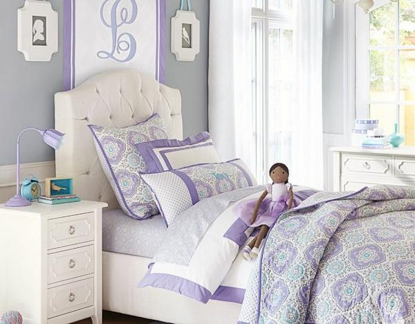 детска стая за момичета дизайн лилаво идеи обзавеждане