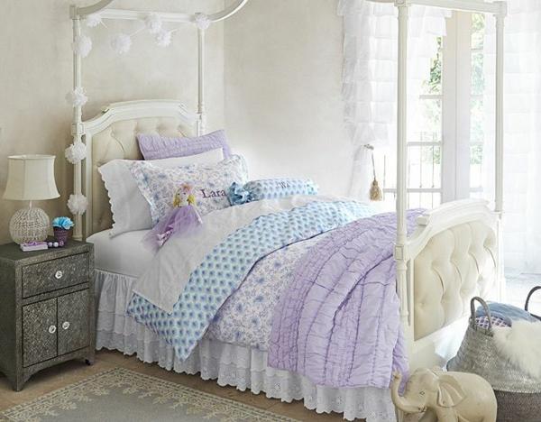 детска стая момичета интериор легло идеи