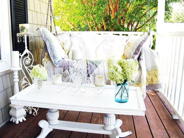 идеи декорация градина външни мебели
