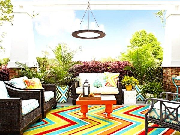 идеи за декорация на градина външни мебели