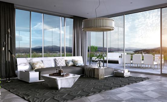 идеи за дизайн на хол интериор модерен стил