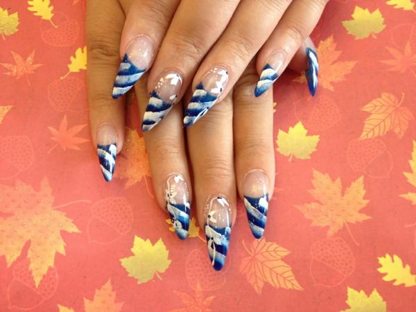 идеи-за-остри-нокти-синьо-райета