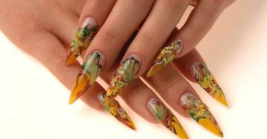 Идеи за остри нокти за провокативни дами