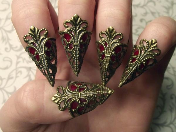 идеи за остри нокти