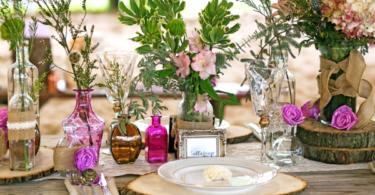 идеи за сватбена украса