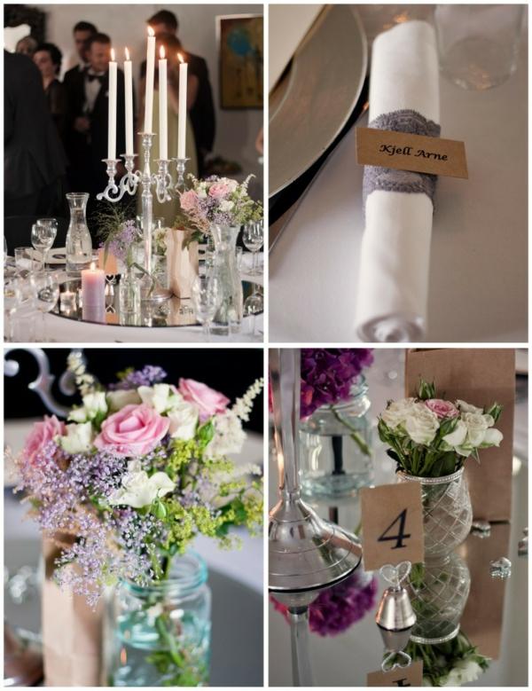 идеи сватбена украса декорация маса