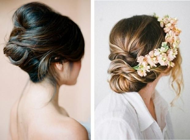 идеи летни прически с вдигната коса