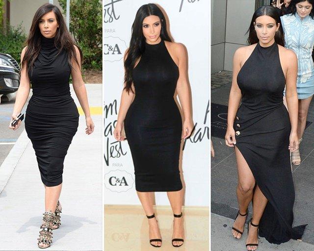 ким-кардашиян-черна-рокля